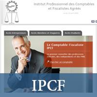 Site de l'Institut Professionnel des Comptables  et Fiscalistes Agréés