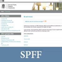 Site du Service Public Fédéral Finances